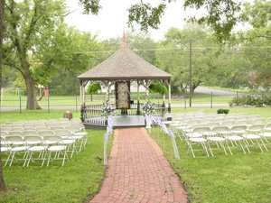 Gazebo with chairs