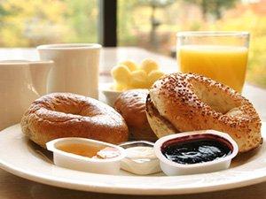 Breakfast at River Gardens B&B