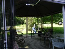 River Gardens Bed and Breakfast Gazebo