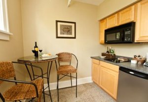 premier suite kitchen