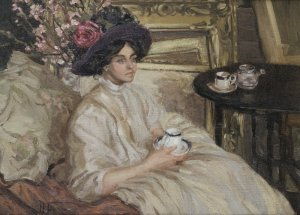 Hilda Fearon afternoon tea