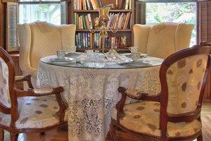 tea room spread