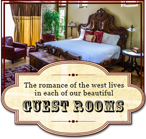 Guest Rooms at 1880 Union Hotel in Los Alamos, CA