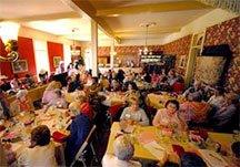 Social Club parties at 1880 Union Hotel in Los Alamos, CA