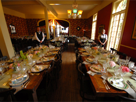 wedding dining hall