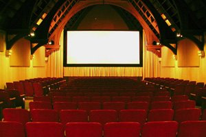 picture of the Chautauqua Cinema auditorium