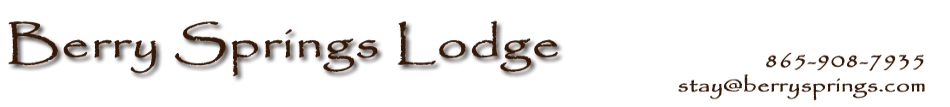 Berry Springs Lodge Header