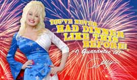 Dolly Parton at Dollywood