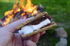 S'mores by the campfire