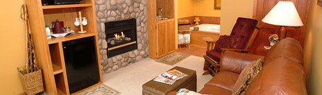 Hideaway Springs Mountian Suite Living Room