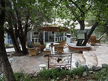 prescott pines bed and breakfast patio