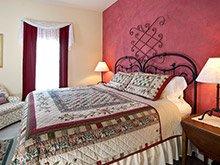 pleasant street inn bed and breakfast bedroom