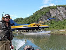 Wolverine Creek Fly out float plane and Guide