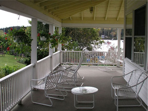 East Wind Inn porch chairs