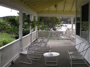 East Wind Inn porch chairs