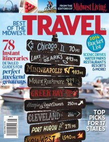 Songbird Prairie in the Best of the Midwest Travel magazine 2014