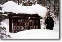 cooke city montana in winter