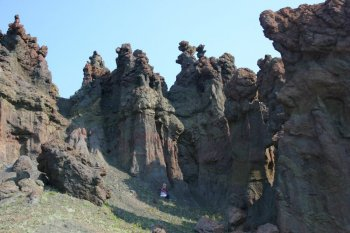 hoodoo peaks in yellowstone national park