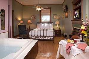 Victorianne Room at The Westby House Inn & Restaurant in Westby, Wisconsin
