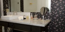 vanity in the Westby Room bathroom