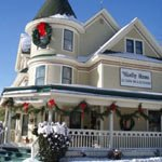 Westby House Inn and Restaurant During the Holidays
