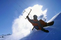 Snowkiting Photography by Wareck