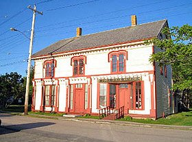O'Dell House Museum in Annapolis Royal Canada