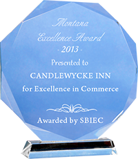 Montana Excellence Award for Candlewycke Inn