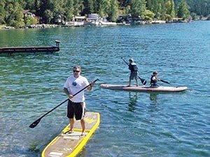 paddleboarding Near Candlewycke Inn