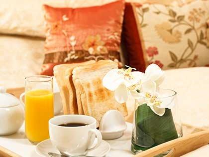 breakfast in bed in SE South Dakota