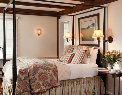 Furnace Brook Winery Suite 10 at Garden Gables Inn in the Berkshires
