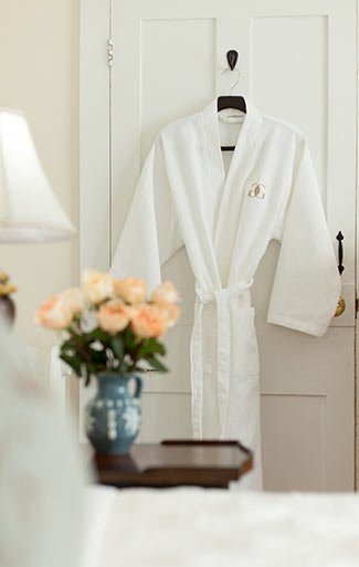 robe at Garden Gables in Lenox, MA