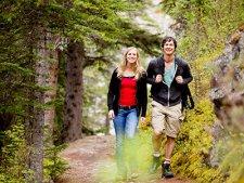 Hiking in Hidden Valley Park