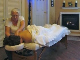 Massage at Maris Day Spa at Penny House Inn