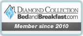 Diamond Collection Member on Bed and Breakfast Since 2010