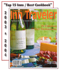 Inn Traveler Top 15 Inns/ Best Cookbook
