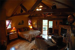 Moose Recluse cabin at Eureka Sunset - Eureka Springs, AR
