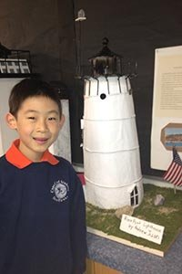 student's project regarding Race Point Lighthouse - Outer Cape Cod