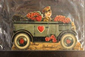 valentine auto card