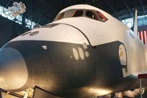 NASA space shuttle in Dayton, Ohio