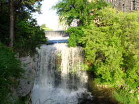 Vermillion falls near Hastings, Minnesota