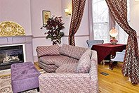 Lumber Baron Condo sitting room at Thorwood Rentals and Retreats in Hastings Minnesota