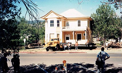 Pleasant Street Inn moving locations in Prescott, Arizona
