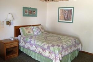 green Bedroom at Crest Country Inn in Williamsburg, Iowa