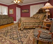suite at Robinwood bed and breakfast in Little Rock, Arkanas