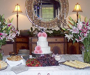 wedding at Robinwood bed and breakfast in Little Rock, Arkanas