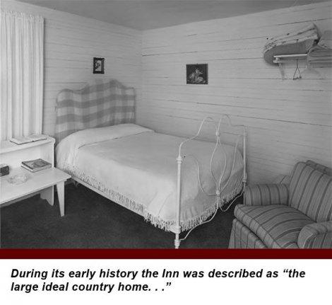 bed in York House Inn in Rabun Gap, Georgia