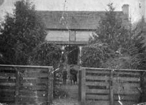1907 view of York House Inn in Rabun Gap, Georgia