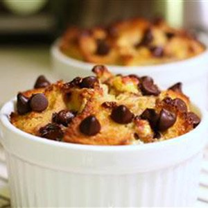 Chocolate banana bread pudding from South Dakota