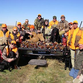pheasant hunt in South Dakota